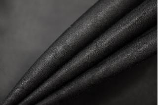 Блузочный шелковый сатин черный PRT-C6 19032018