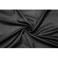 Блузочный шелковый сатин черный PRT-BB5 19032018