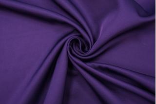 Костюмно-плательная шерсть с шелком фиолетовая PRT-H6 19032025
