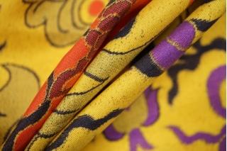 Твил шелковый драконы PRT-C5 19032027