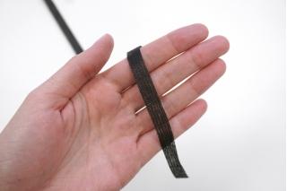 Лента нитепрошивная 10мм черная WT 20121705