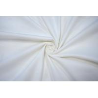 Костюмный хлопок-стрейч под велюр бело-молочный NST.H-F6 22062001