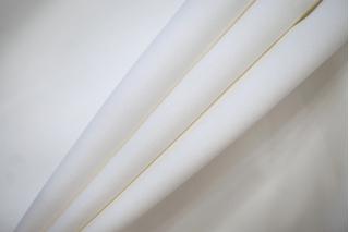 """Костюмный хлопок-стрейч """"под велюр бело-молочный NST-W6 22062001"""