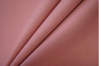 """Костюмный хлопок-стрейч """"под велюр розовый NST-W6 22062003"""