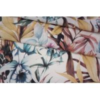 Штапель тропические цветы NST-H4 22062067
