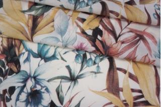 Штапель тропические цветы NST-Z6 22062067