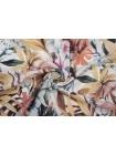 Штапель тропические цветы NST-i50 22062067