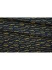 Креп вискозный желтый принт NST-H5 22062073