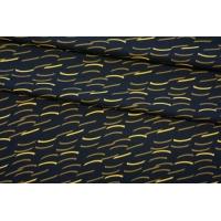 ОТРЕЗ 2,5 М Креп вискозный желтый принт NST-(33)-22062073-1