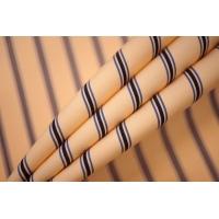 Поплин рубашечный персиковый в полоску PRT-E4 07032013