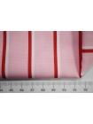Поплин рубашечный розовый в полоску PRT-G5 07032014