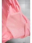 Поплин рубашечный в клетку бело-розовую PRT-E4 07032019