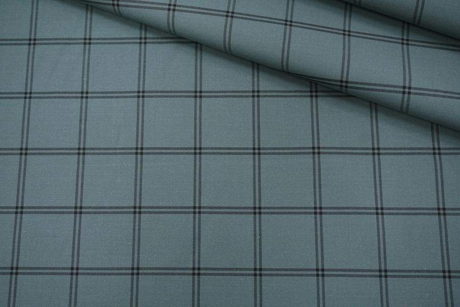 Рубашечный хлопок в клетку PRT-F5 07032025