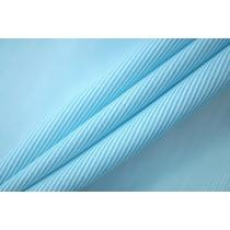 ОТРЕЗ 2,85 М  Поплин рубашечный бело-голубой PRT-E5 07032051-2