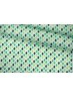 ОТРЕЗ 2,6 М Поплин рубашечный листья PRT-(43)- 07032056-1