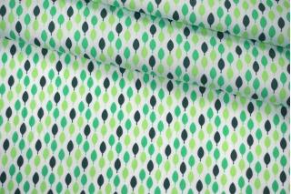 Поплин рубашечный листья PRT-E5 07032056