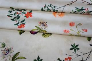 Поплин рубашечный цветочный Ungaro PRT-E5 07032058