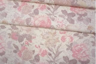 Джинса-стрейч цветочная PRT-F6 16032027