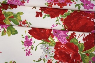 Поплин рубашечный цветочный PRT-F5 17032024