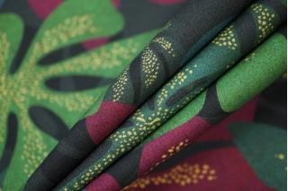Поплин рубашечный листья PRT-F5 17032026
