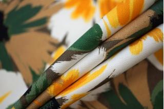 Плательный хлопок желтые цветы PRT 17032032