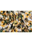 Плательный хлопок желтые цветы PRT-G7 17032032