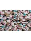 Плательный хлопок разноцветные цветы PRT-A60 17032033