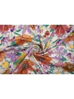 Плательный сатин вискозный цветы PRT-H4 18032004