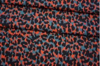 Плательная вискоза леопард PRT 18032005