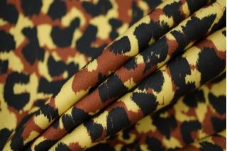 Плательная вискоза леопард PRT 18032007