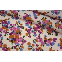 Плательный лен цветочный PRT-E6 19032004