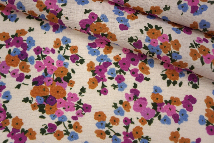 Плательный лен цветочный PRT-H7 19032004