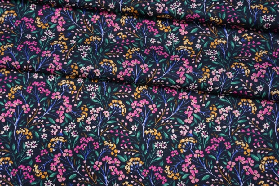 Хлопок органический с цветочками PRT-G6 19032037