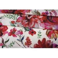 ОТРЕЗ 1,7 М Хлопок органический с цветочками PRT-E5 19032038-1
