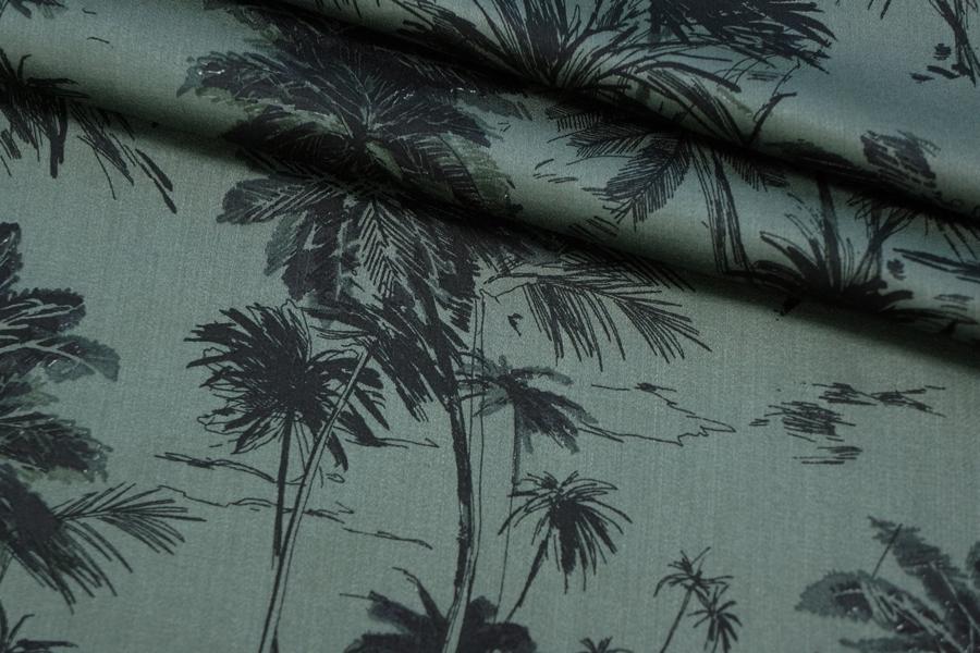 Штапель-сатин пальмы PRT-H4 20032011