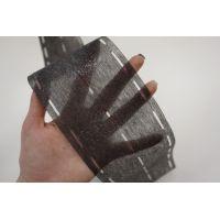 Лента флизелиновая с перфорацией для поясов темно-серая 06032084