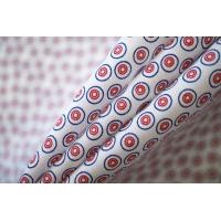 ОТРЕЗ 2,4 М Поплин рубашечный в кружочек PRT-(30)- 05052017-1