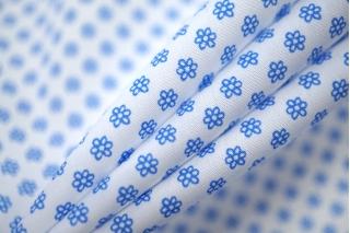 Поплин рубашечный в мелкий цветок PRT-F5 06052012