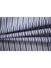Поплин рубашечный в бело-серо-синюю полоску PRT-G5 22052010