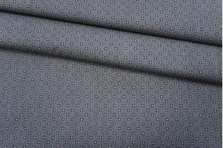 ОТРЕЗ 2,45 М Хлопок рубашечный серый с принтом PRT-(41)- 22052019-1