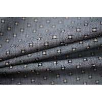 Хлопок рубашечный серый с принтом PRT-F3 22052019