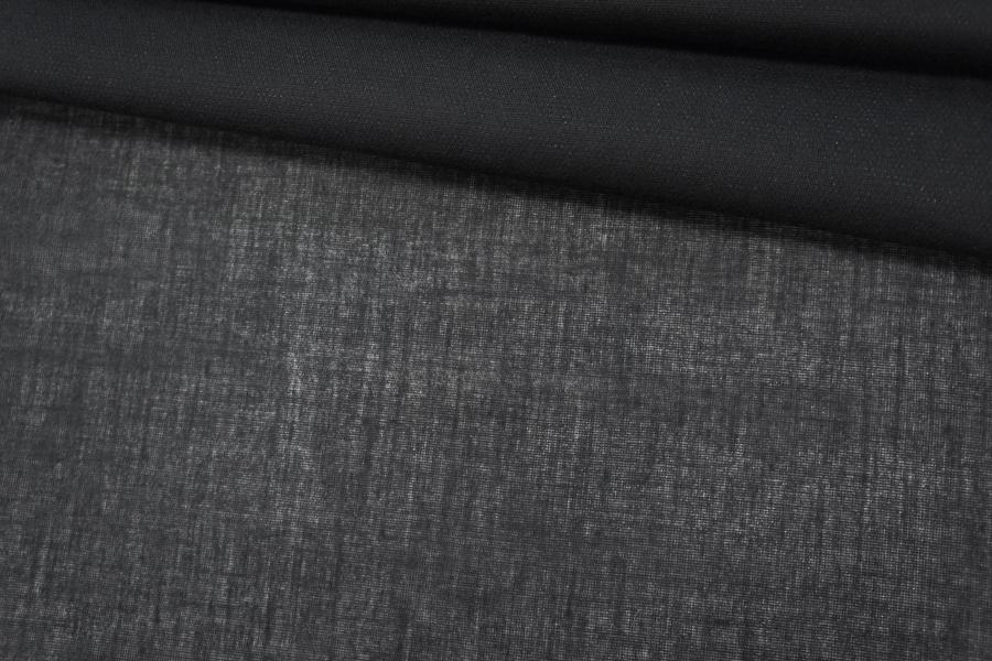 Дублерин хлопковый черный PRT 30042006