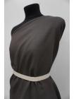 Костюмный лен темный серо-коричневый PRT-Е6 21012006