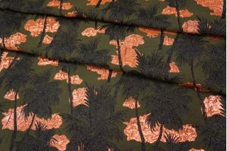 Жаккард с люрексом пальмы PRT- P2 22012012