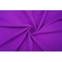 Костюмная шерсть дабл би-стрейч фиолетовая PRT-F2 13012010