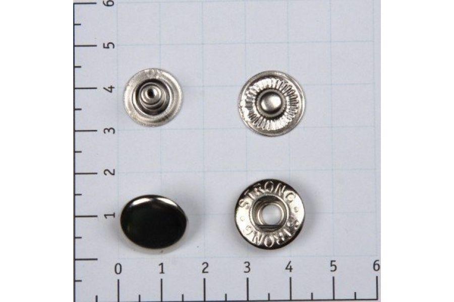 Кнопка STRONG никель 15 мм 055358