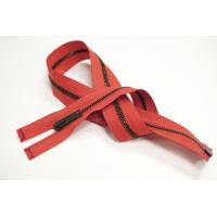 Молния металл красная разъёмная однозамковая 60 см 01012129