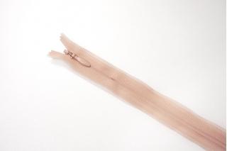 Молния розовато-персиковая потайная 22 см YKK 03032101