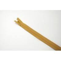 Молния желтовато-коричневая потайная 60 см YKK 03032117