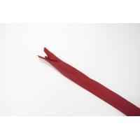 Молния темно-красная потайная 60 см YKK 03032129